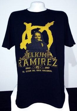 Camiseta Elkin Ramirez 6Disponible en Tallas M, L y XL